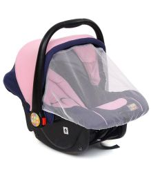 Mee Mee Car Seat Cum Carrycot MM806 1805 - Pink & Black