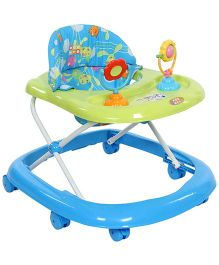 Mee Mee Baby Walker With Two Play Toys MM W 3023 - Blue