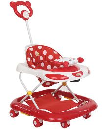 Mee Mee Baby Walker Polka Dot Print MM W 3022 - Red