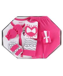 Starters 9 Piece Baby Gift Set - Pink