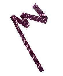 De Berry Dot Print Headband - Purple