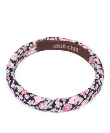 De Berry Flower Print Wrist Band - Multicolour