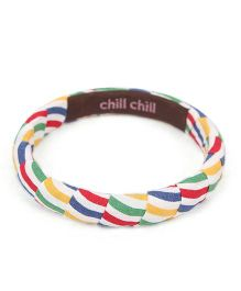 De Berry Lining Print Wrist Band - Multicolour