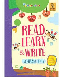 Read Learn & Write Alphabet A To Z - English