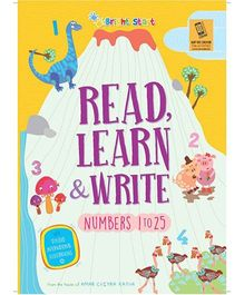 Read Learn & Write Numbers 1 To 25 - English