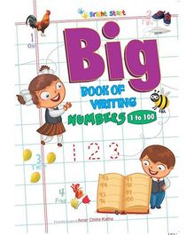 Big Book Of Writing Numbers 1 To 100 - English