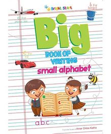 Big Book of Writing Small Alphabet - English