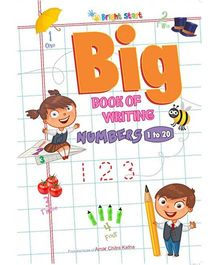 Big Book Of Number Writing 1 To 20 - English