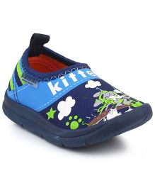 Kittens Canvas Shoes - Navy
