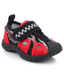 Kittens Sports Shoes - Red Black
