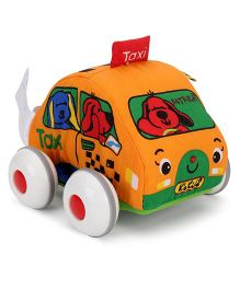 K's Kids Pull Back Auto Taxi - Orange