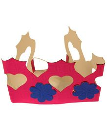 Partymanao Paper Crown Pink - Pack Of 5