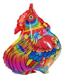 Partymanao Hen Shaped Foil Balloon - Multicolor
