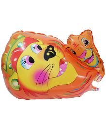 Partymanao Tiger Shaped Foil Balloon - Multicolor