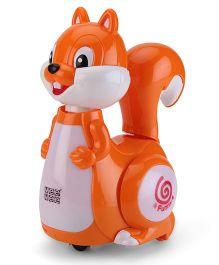 Mee Mee Musical Singing & Roaming Squirrel - Orange