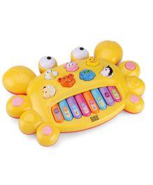 Mee Mee Cheerful Crab - Yellow
