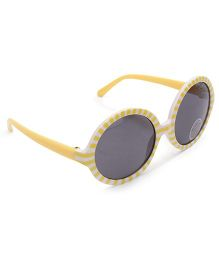 Pumpkin Patch Pretty Retro Sunglasses - Yellow