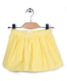 Pumpkin Patch Skirt Hakoba Pattern - Yellow