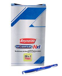 Liquiflo Nxt Ball Pen Blue - Pack Of 20