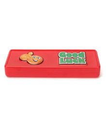 2D Neo Pencil Box Good Luck - Red