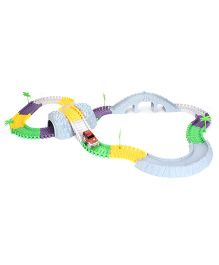 MaxTrax Medieval Town Track Set  Multicolor - 180 Pieces