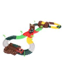 MaxTrax Jungle Safari Track Set  Multicolor - 240 Pieces