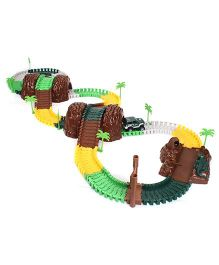MaxTrax Jungle Safari Track Set  Multicolor - 180 Pieces