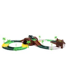 MaxTrax Jungle Safari 140 Pieces Track Set With Motorized Car