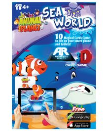Jaadoo Animal Planet Sea World Cards - Pack Of 10