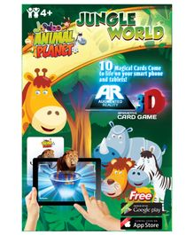 Jaadoo Animal Planet Jungle World Cards - Pack Of 10