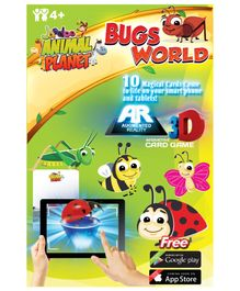 Jaadoo Animal Planet Bugs World Cards - Pack Of 10