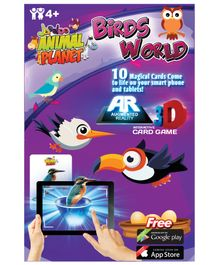 Jaadoo Animal Planet Birds World Cards Multicolor - Pack Of 10