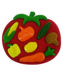 Rubbabu 3D Shape Sorter - Vegetables