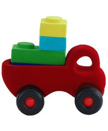 Rubbabu Rubbablox Truck With Four Starter Blocks