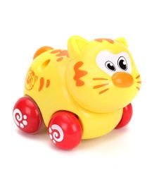 Sunny Friction Cat Toy - Yellow
