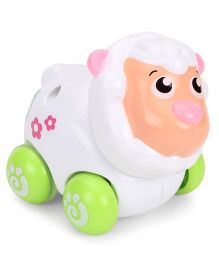 Sunny Friction Sheep Toy - White