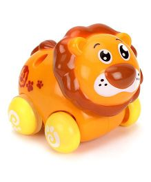 Sunny Friction Lion Toy - Yellow