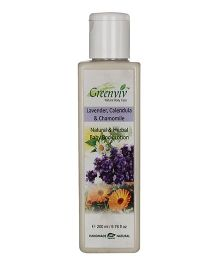 Greenviv Natural & Herbal Baby Body Lotion - 200 ml