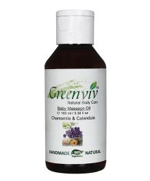 Greenviv Baby Massage Oil - 100 ml