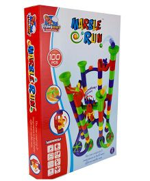 Flying Start Marble Run Multi Color - 100 Pieces