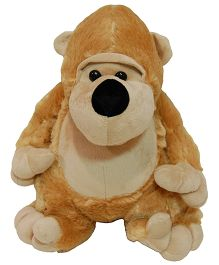 Surbhi Chimpanzee Soft Toy Light Brown - 14 Inches