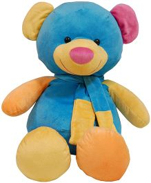 Surbhi Teddy Bear Blue Yellow - 29 Inches