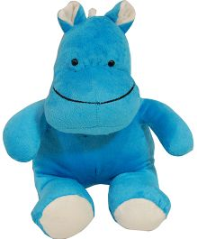 Surbhi Hippo Soft Toy Blue - 6 Inches