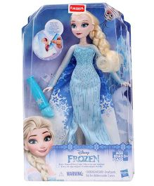 Disney Princess Elsa Doll Magical Cape Blue - 11 Inches
