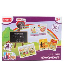 Funskool Play And Learn Homophones - Multicolor