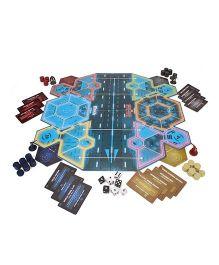 Funskool Marvel Captain America Civil War Risk Board Game - Multicolor