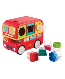 Funskool Shape Sorting Bus - Red