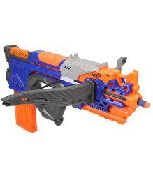 Nerf Funskool N-Strike Elite Crossbolt Blaster - Blue Orange