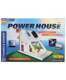 Thames And Kosmos Funskool Power House Experiment Kit - Multicolor