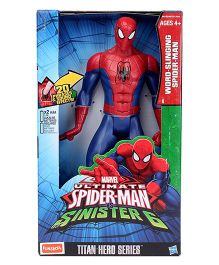 Marvel Funskool Tech Electronic Spider-Man Figure Blue & Red - Height 12 Inches